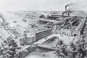 Stamford Manufacturing Company, Cove Island, Stamford.